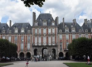 보쥬광장 Place des Vosges
