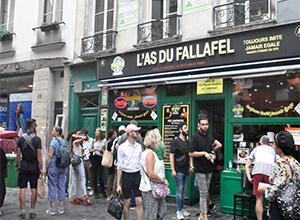 로지에 거리   Rue des Rosiers