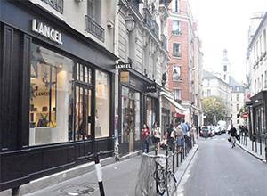 프랑 부르주아 거리  rue des francs bourgeois